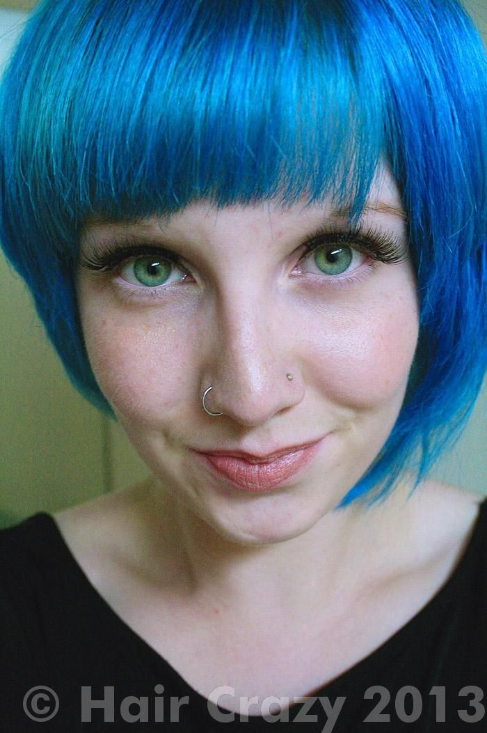 Pin By Tanya Johnston On Blue Hair Hair Photo Multi Colored