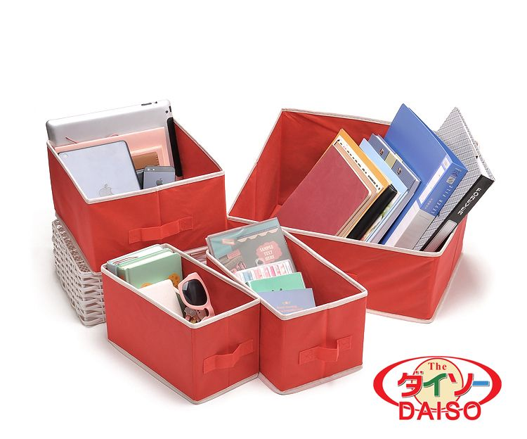 Japan Brand Daiso Storage Box Have 7000set Goods Now 4 Packs Each Set Their Size Are Below Box 1 13 25 15cm 1 Storage Box Daiso Consumer Electronics