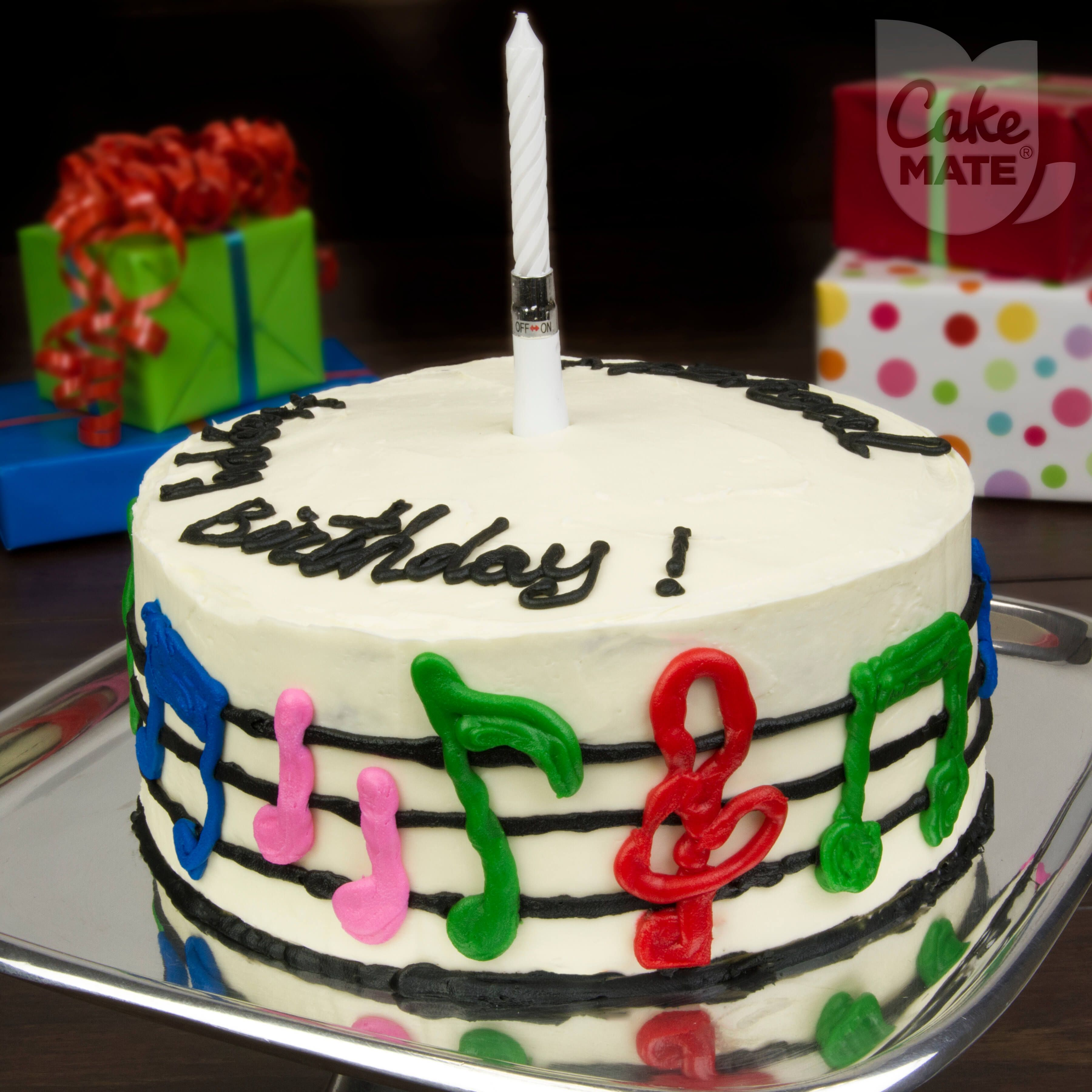 Musician S Musical Cake Simple Cake Designs Easy Cake Cake Mix Ingredients Simple Cake Designs