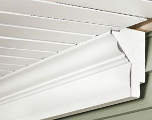 Soffit Enhancers Crown Frieze Board New Homes Home House