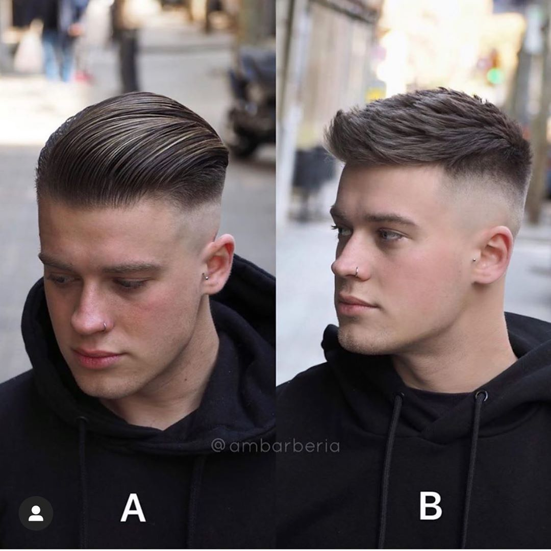 Hair Models 2018 On Instagram Ambarberia Via Barber Haircut Barbershop Menshair Menf In 2020 Mens Haircuts Short Haircuts For Men Mens Haircuts Fade