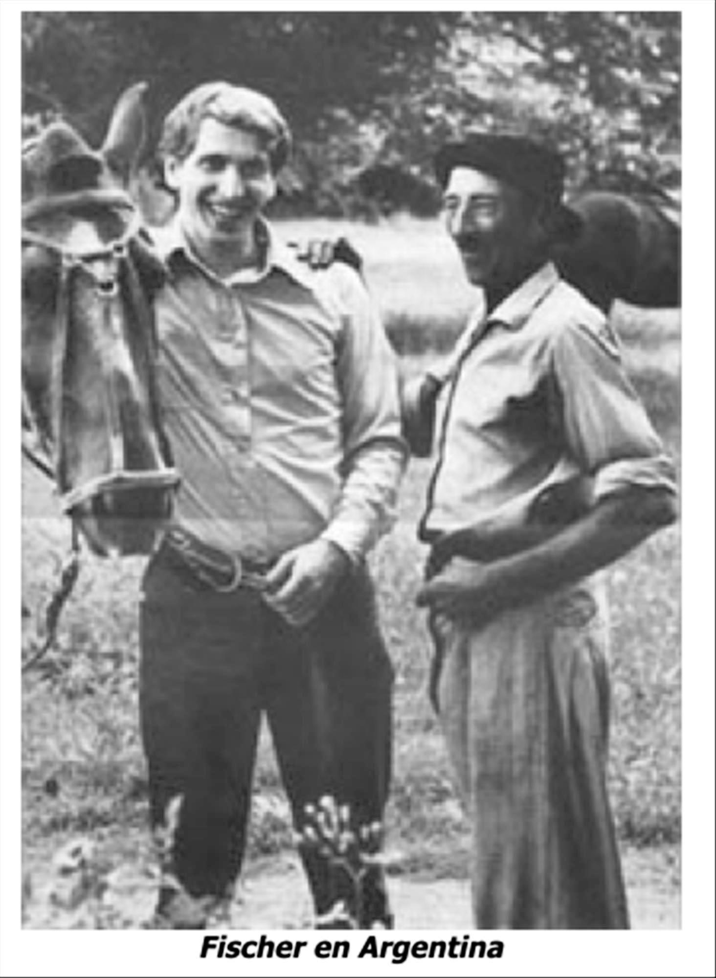 Robert James (Bobby) Fischer fue el primer estadounidense que conquistó el título del Campeón del Mundo de Ajedrez. Una caricatura de Bobby Fischer y Boris Spassky en el mundial de Islandia de 1972