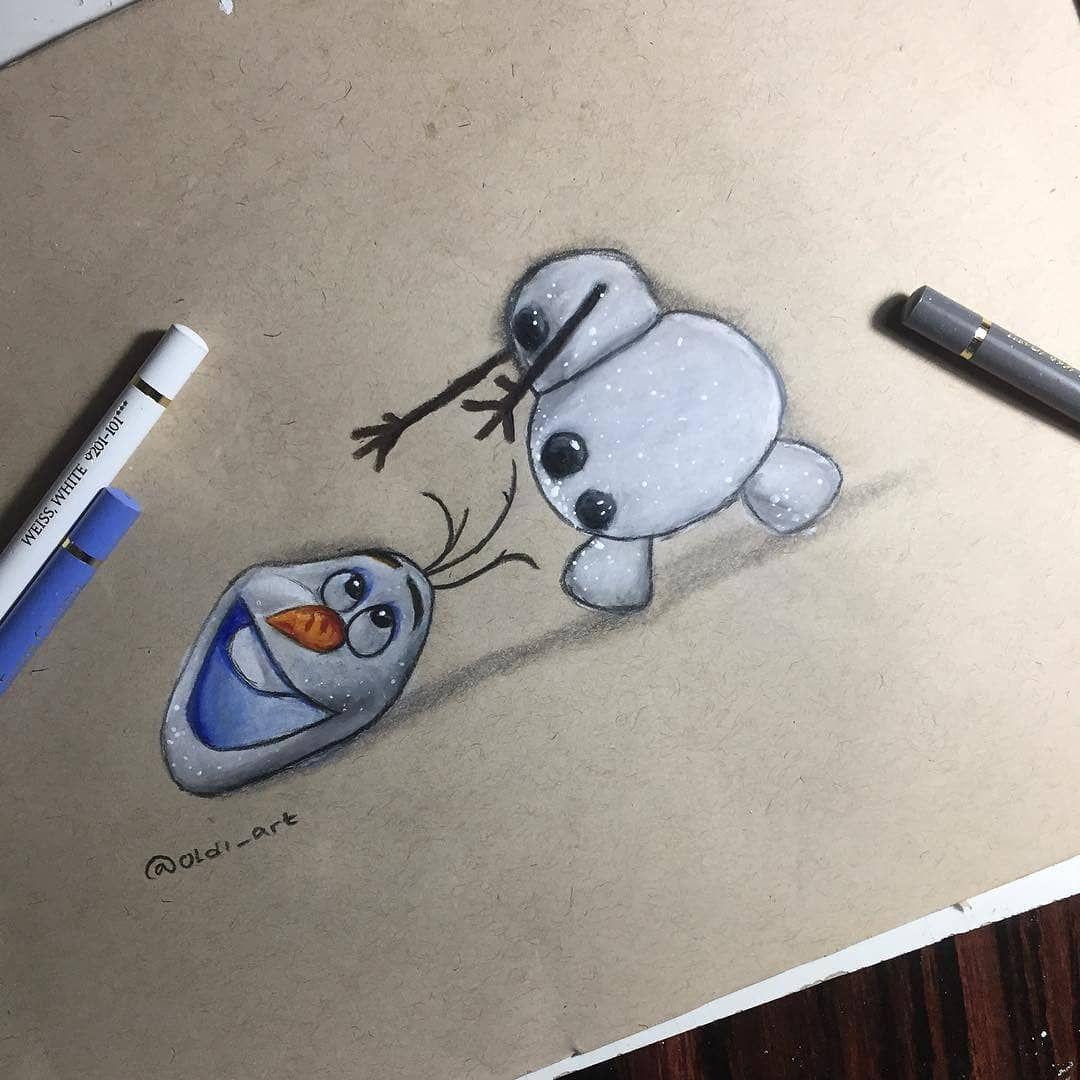 Repost 0ldi Art Lagi Pengen Bikin Olaf Next Aku Buat Elsa Untuk Versi Thun Ini Disneyarts Disneyart Olaf D Olaf Drawing Disney Drawings Elsa Drawing