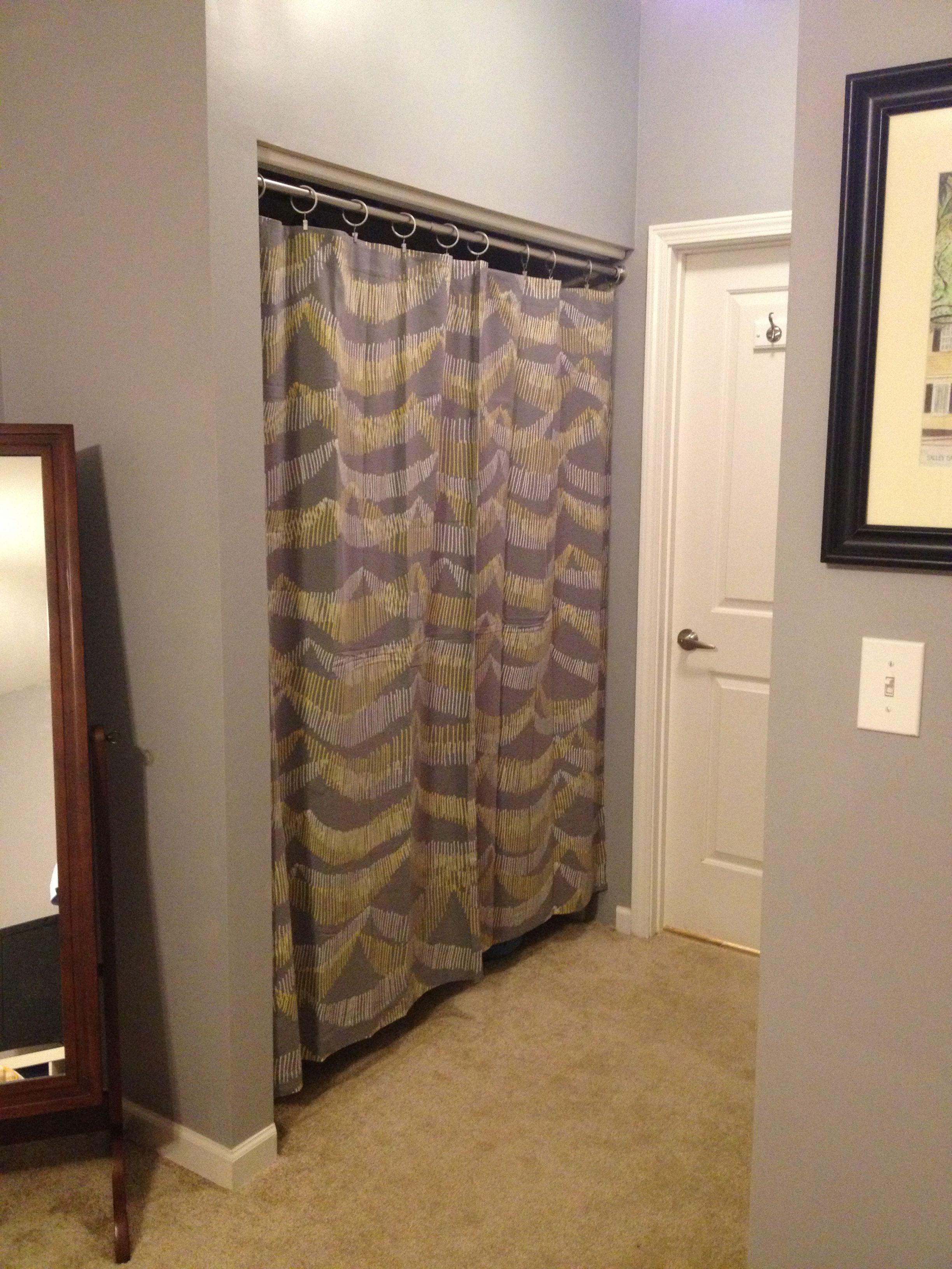 Curtain call folding closet doors cheap barn doors