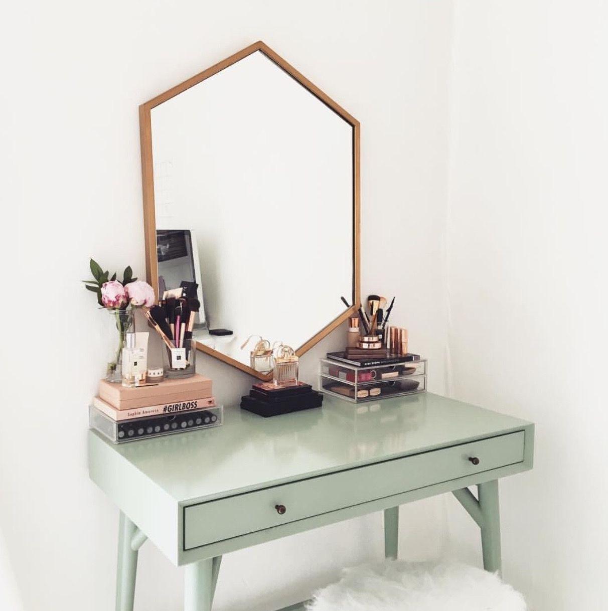 Minimalismo fofo decor pinterest vanities desks and decoration