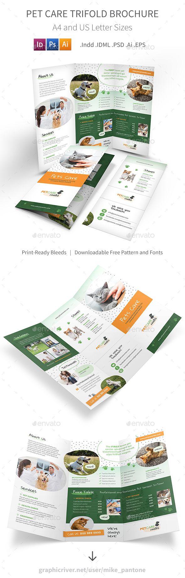 Pet Care Trifold Brochure 6   Elementos