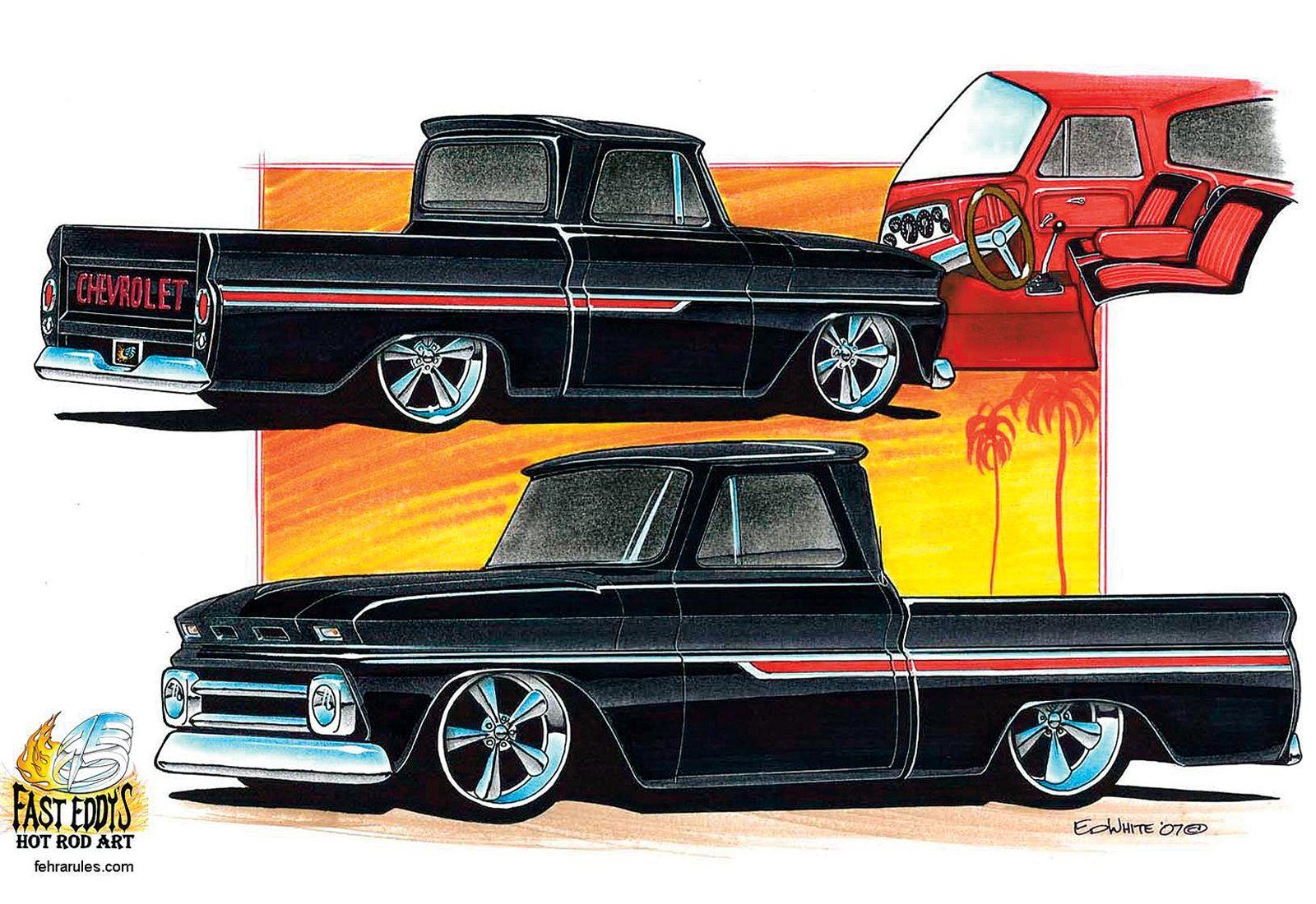 1965 chevy truck custom | Custom Trucks and cars - for Tobie | Pinterest