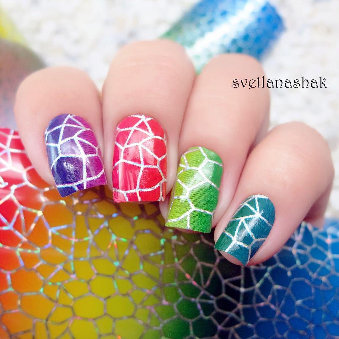 Stickers decals nail stickers nail art decals fashion -  0 99 2 Patterns Sheet Born Pretty Triangle Diamond Shape Nail Art Water Decals Transfer Sticker
