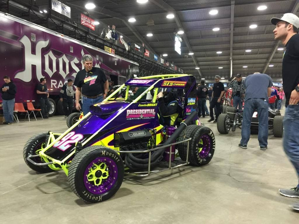 Ingham's Powder Coating helped this Car win First prize at
