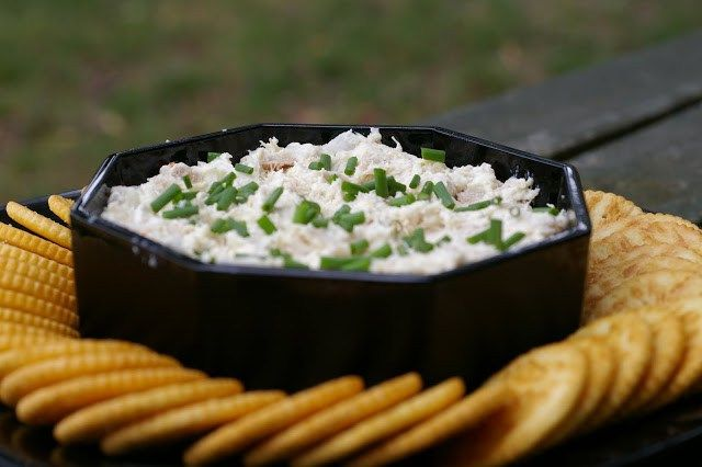 This Chicken spread is a must make for your game day festivities. It is quick, easy, delicious and uses leftover chicken