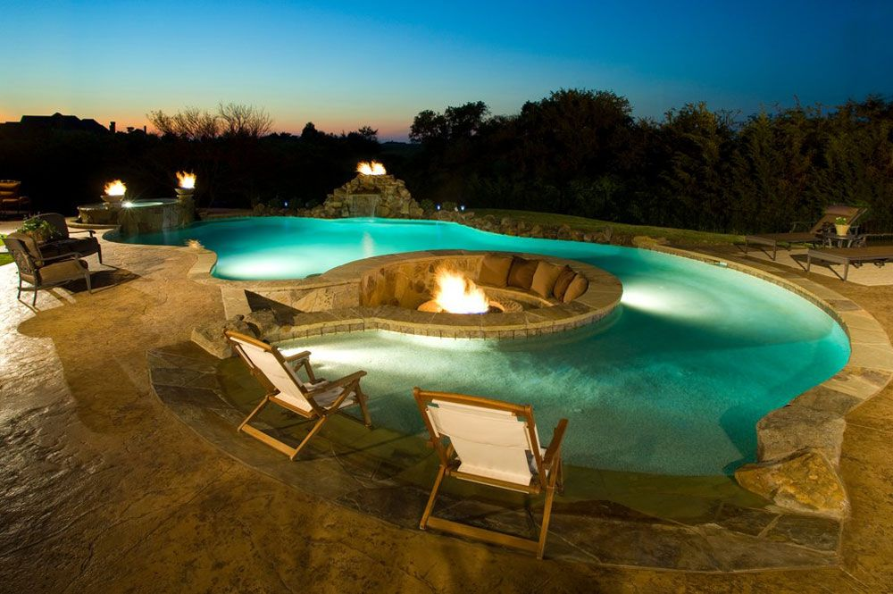 Outdoor Pool Designs That You Would Wish They Were Yours Jardin