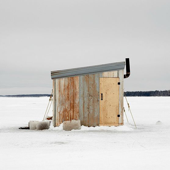 This gorgeous gallery of Canadian ice fishing huts will have you reeling