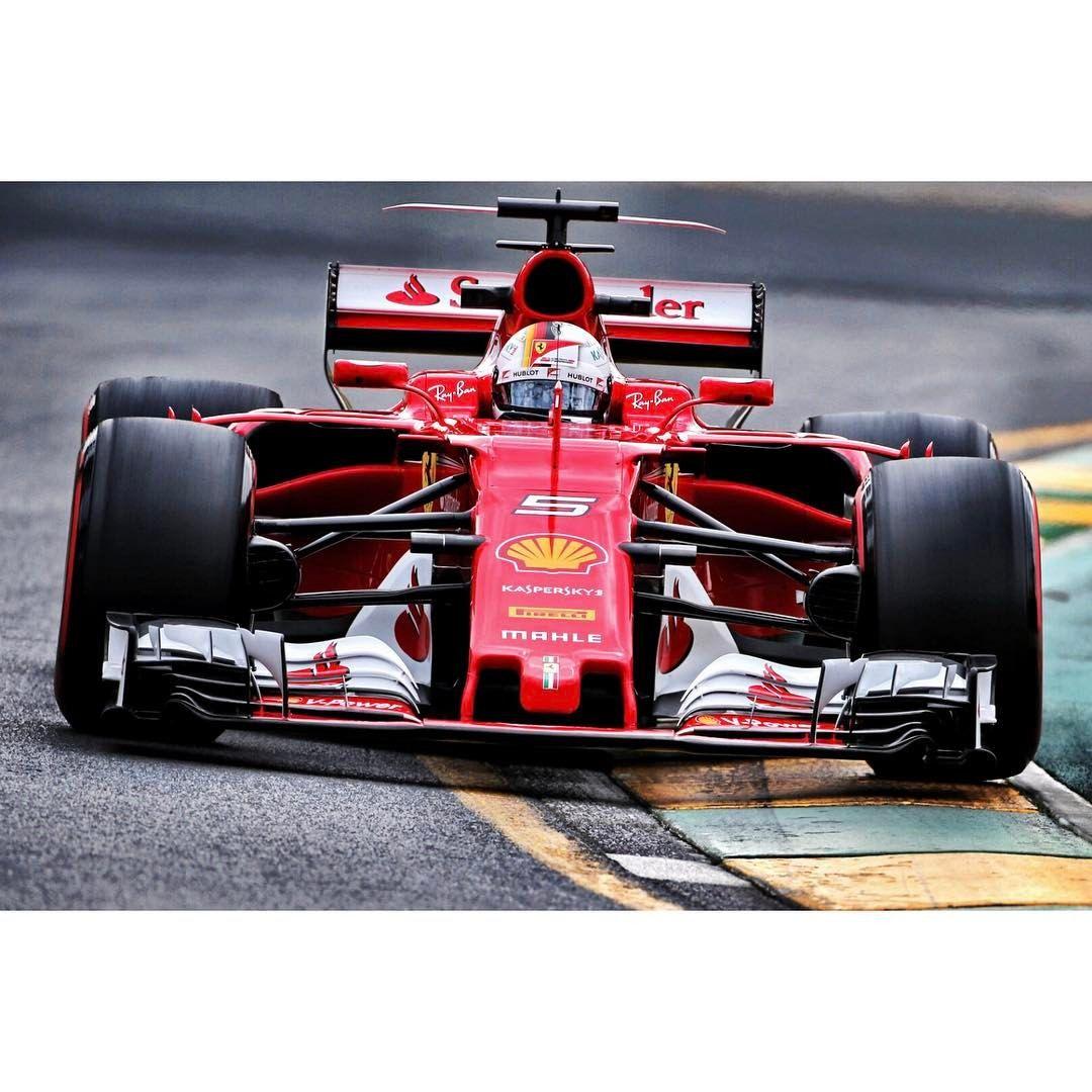 Sebastian vettel ferrari sf70h australian gp melbourne 2017