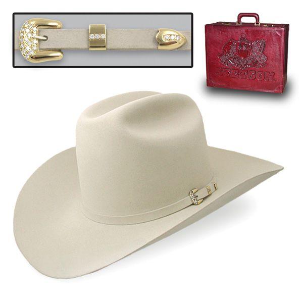 Stetson Diamante - (1000X) Fur Cowboy Hat  4 867bd0f4a84