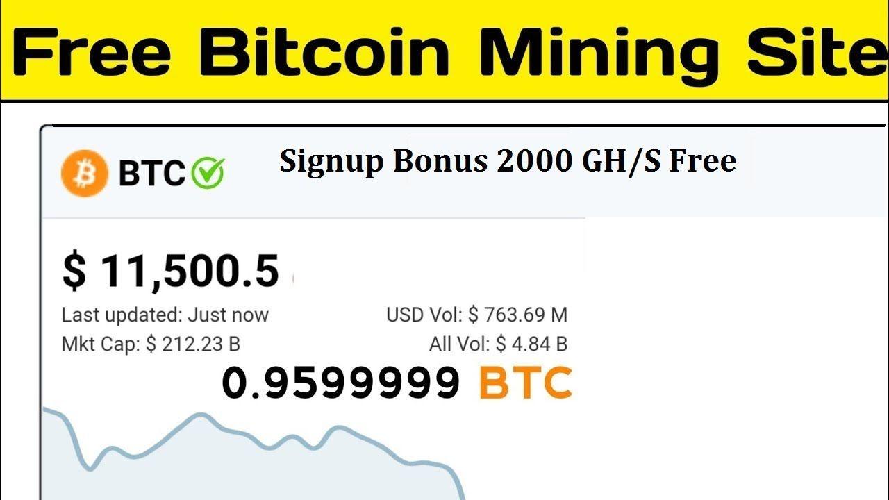 Bitland !!! Free Bitcoin Mining Website 2020    Sign Up Bonus 2000 GH/S Mining Website 2020