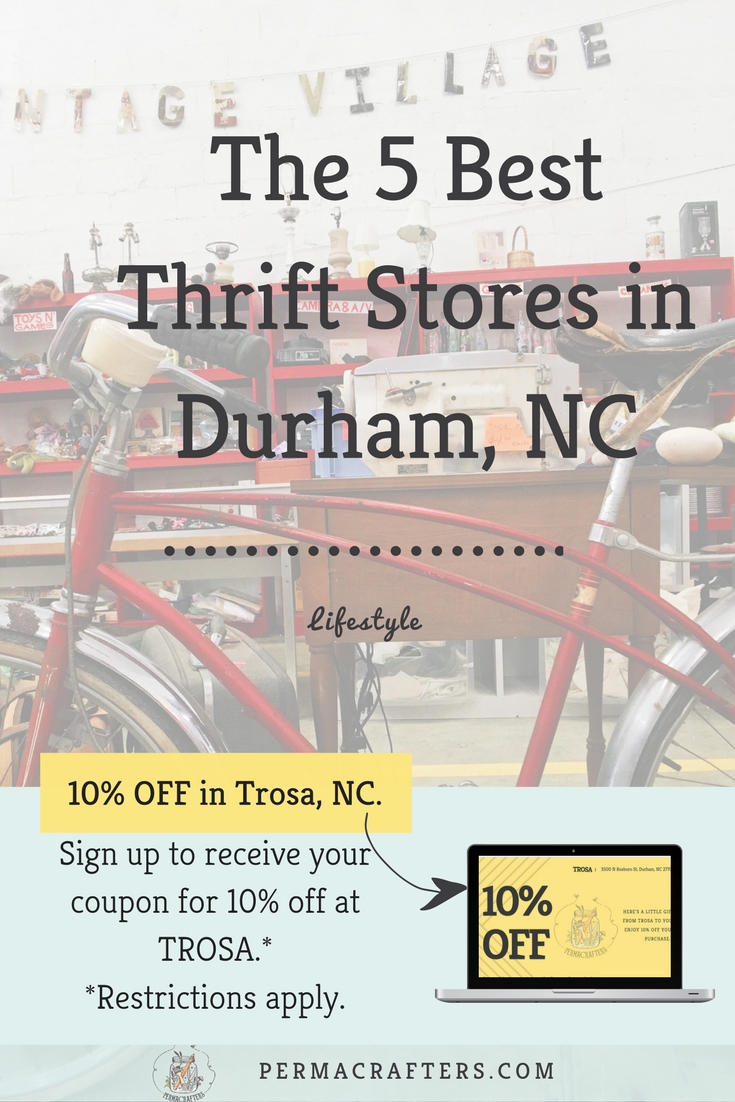 Explore Secondhand Gems In The Bull City Here Are The 5 Best Thrift