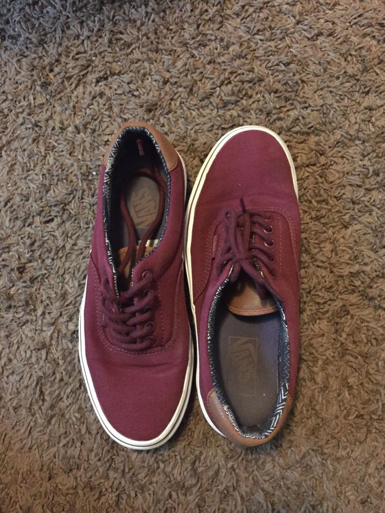 4d7e37393a5 Vans Era 59 Port Royale   Multi Stripe Skate Shoes Red Maroon Low Mens 7.5   fashion  clothing  shoes  accessories  mensshoes  athleticshoes (ebay link)