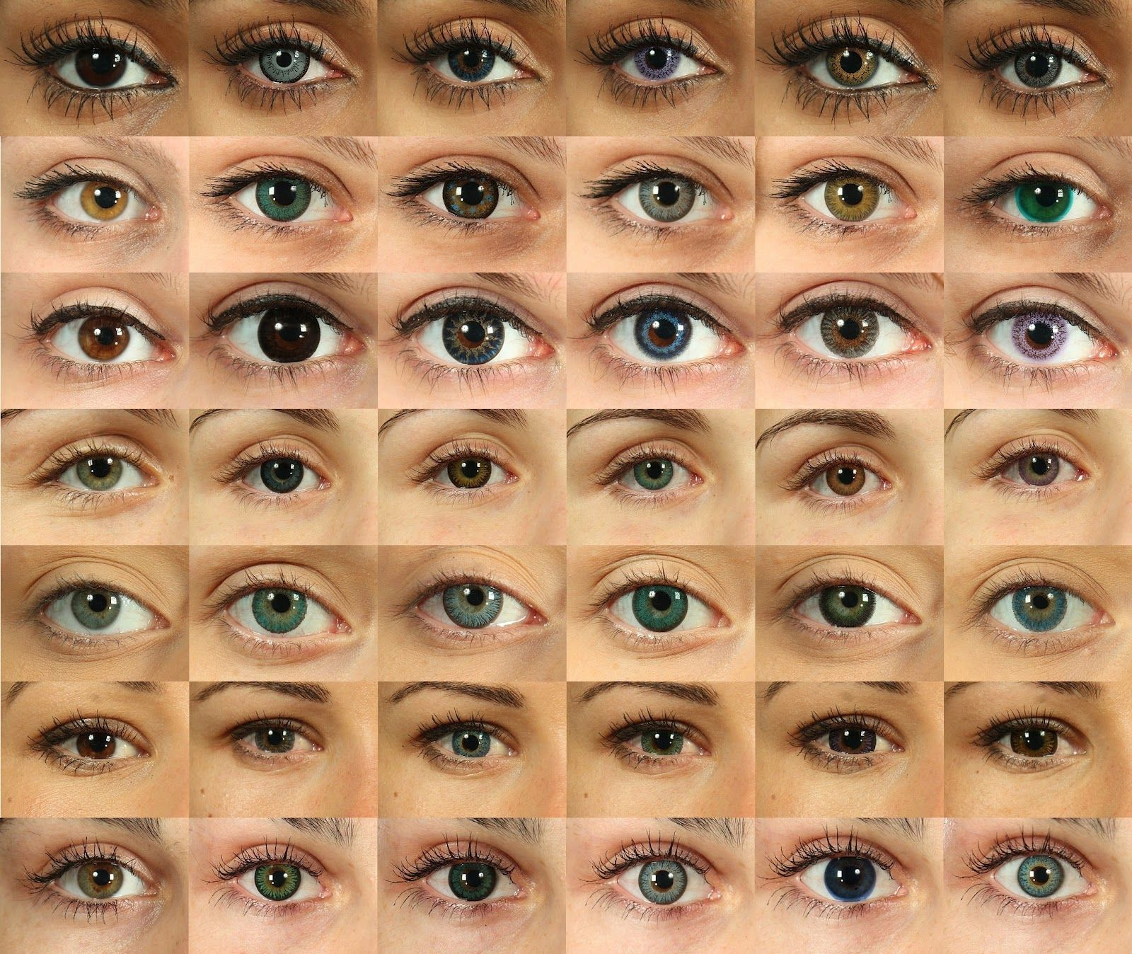 Eye Colors Different 02 Eyes And Hair Softlens Bc Rainbow 165mm