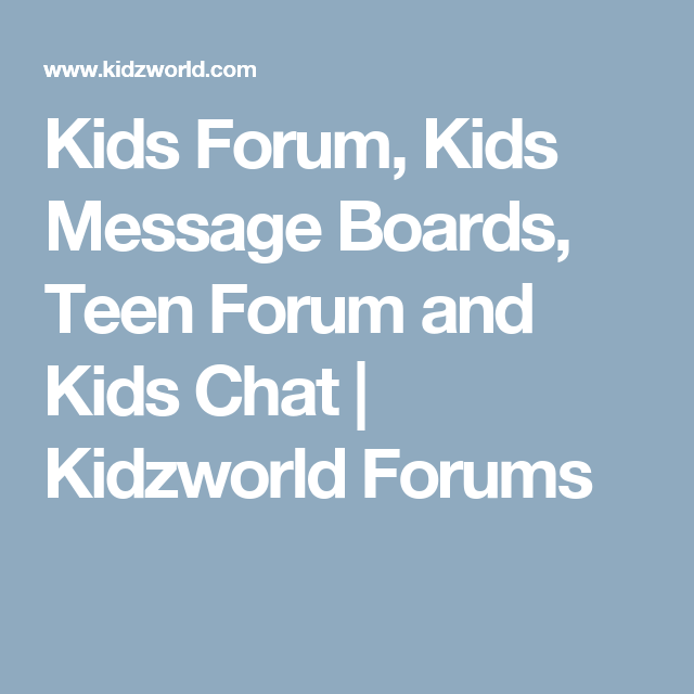 teen-forum-forums-for
