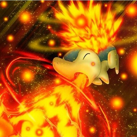 Cyndaquil | Pokemon pictures, Pokemon teams, Fire type pokémon