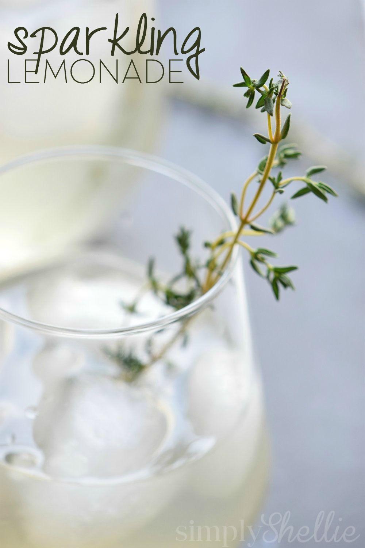 Sparkling Lemonade Recipe #sparklinglemonade