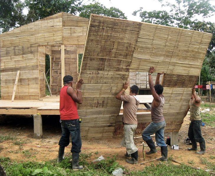 CO2 Bambu Brings Low-Cost, Low-Carbon Bamboo Housing to Nicaragua | Inhabitat - Sustainable Design Innovation, Eco Architecture, Green Building