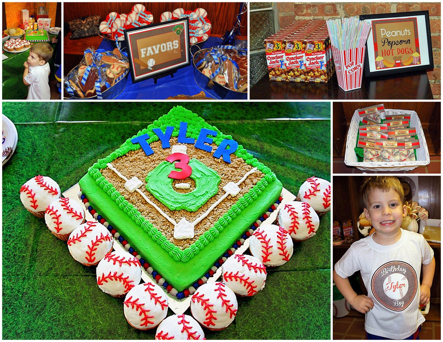 Printable vintage baseball party package by party like for Vintage sites like etsy