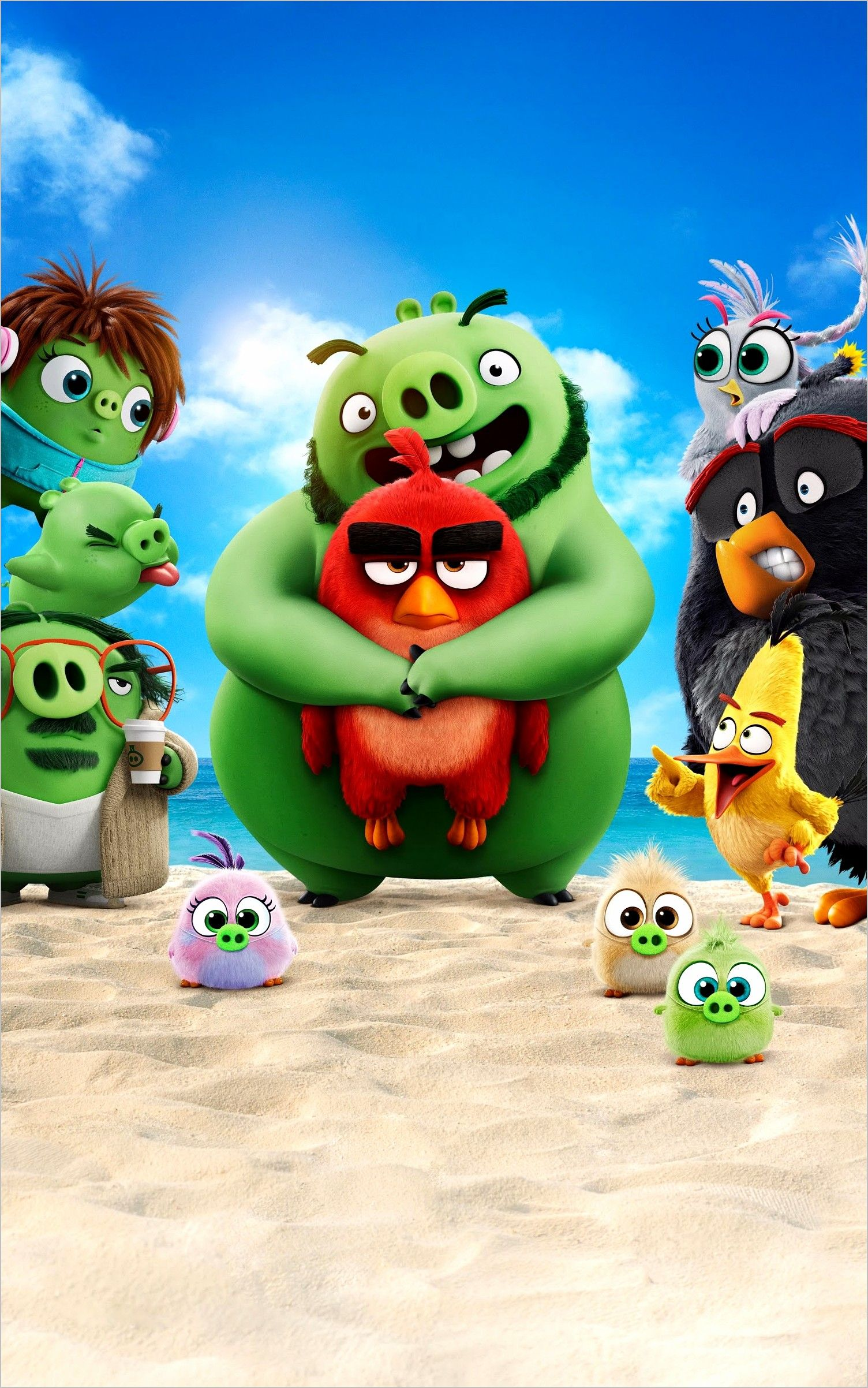 Angry Birds 4k Wallpaper In 2020 Angry Birds Movie Angry Birds Angry Birds 2 Movie