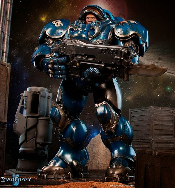 Pre-order Sideshow Collectibles Starcraft 1/6th scale Terran Space