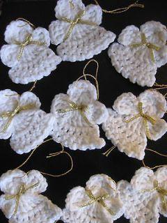 Crochet Angel Ornaments On Etsy A Global Handmade And Christmas