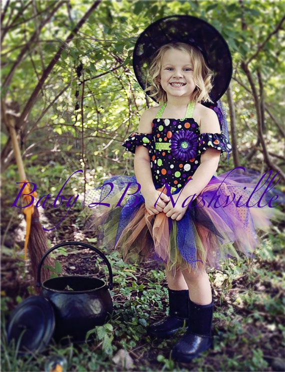 Baby Witch Costume Tutu Costume Halloween Witch Baby Tutu Costume - witch halloween costume ideas