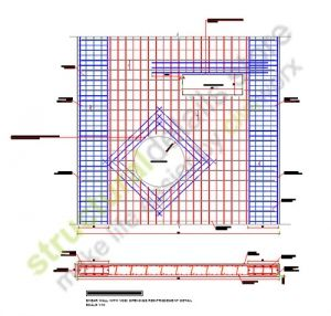 Shear Wall With Void Openings Reinforcement Details Reinforced Concrete Wall Crosses Reinforcement