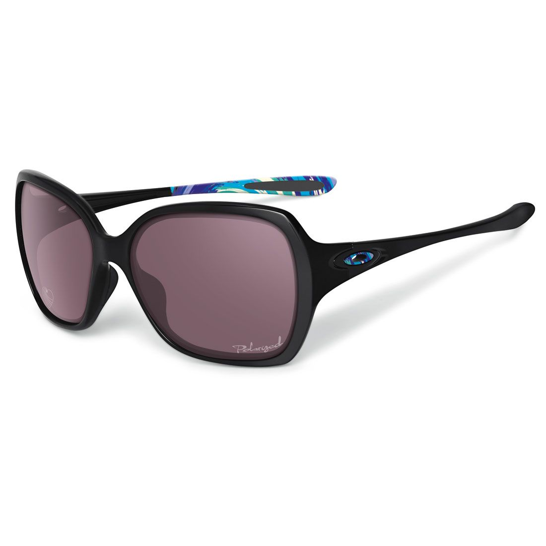 a663af1c3d ... oakley womens overtime sunglasses karena polished black w oo grey  polarized oo9167 17 ...