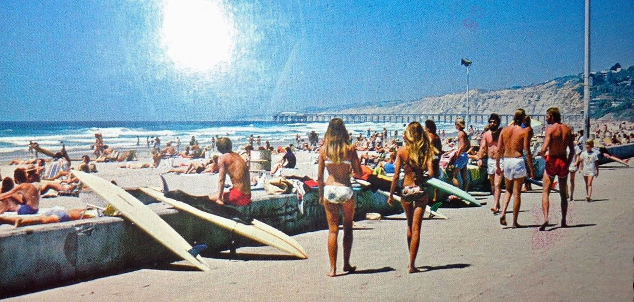 577e9f5c69 1970's La Jolla beach scene   SURFING A COLLECTION OF OLD PHOTOS/ADs ...