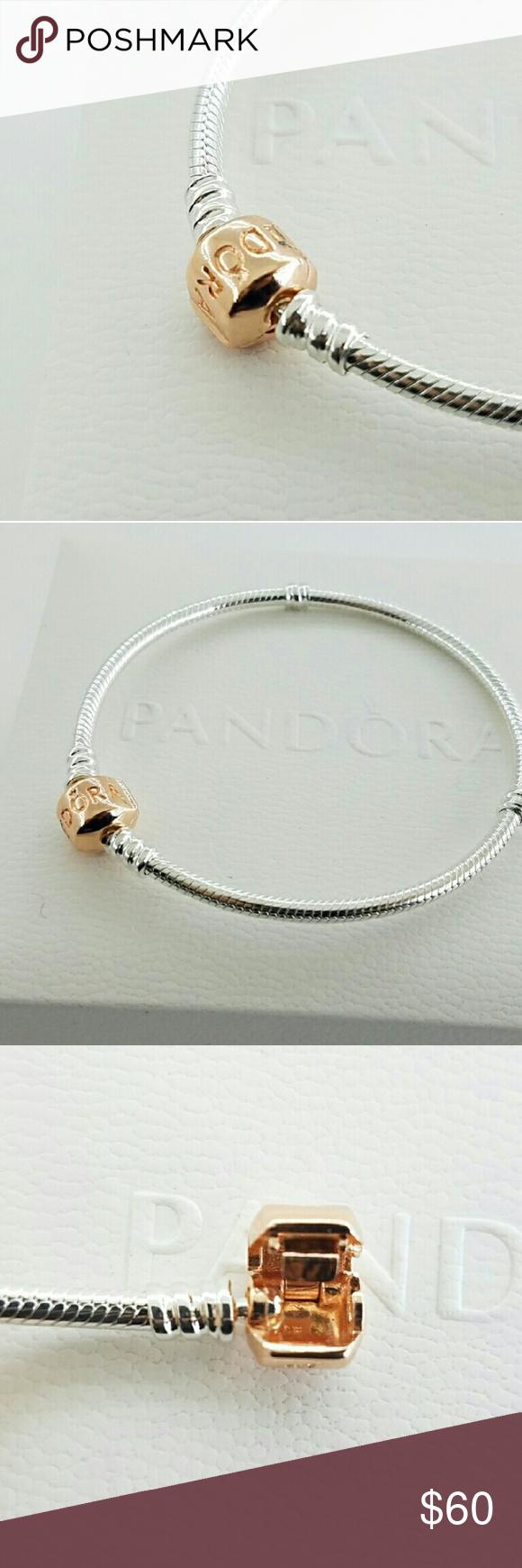 Authentic Pandora Rose Gold Clasp