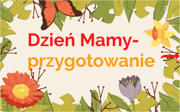 Discover More About Dzien Mamy Przygotowanie Interactive Image English Games Interactive Novelty Sign