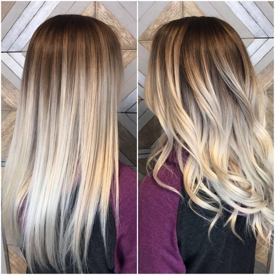 Ombre Hair Is Still One Of The Hottest Trends From Blonde Ombre Style To Black Silver Or Even Ash Tones Although Ombre Hair Blonde Hair Styles Blonde Ombre