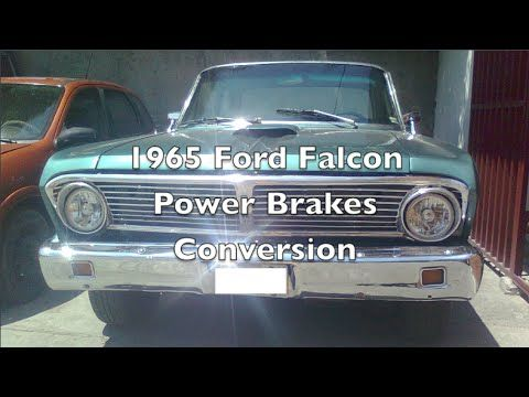 1964 1965 Ford Falcon Power Brakes Geo Metro Booster Master Cylinder Upgrade Mod Conversion Ford Falcon Falcon Ford