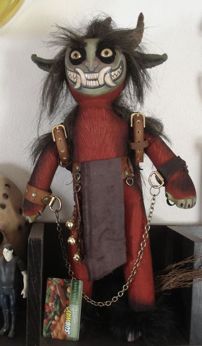 Krampus doll by missmonster The Christmas Devil KRAMPUS