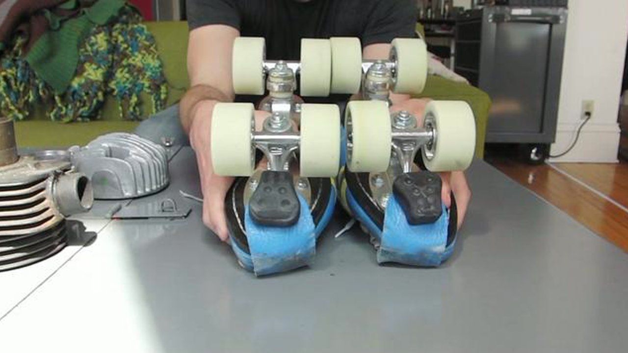 Newsflash Adjusting The Trucks On Your Skates Makes Maneuvering And Turning Way Easier Ahhh The Stuff I Lea Roller Derby Derby Skates Roller Skate Wheels