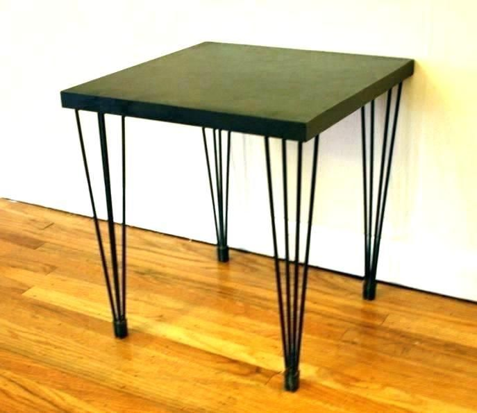 Rod Iron Furniture Manufactured Wrought Legs