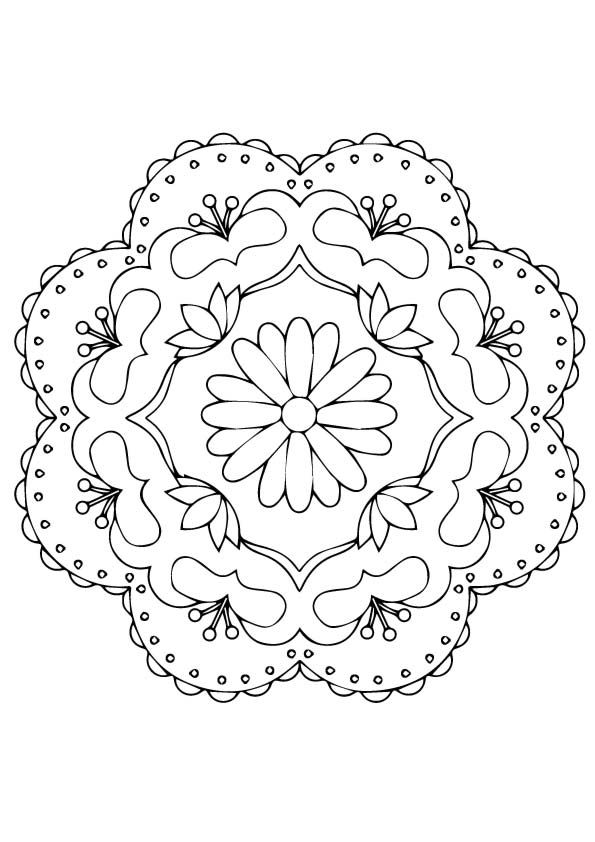Rangoli coloring pages | Free Coloring Pages | 842x595