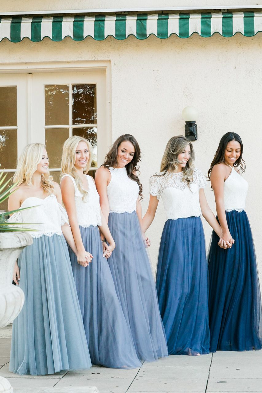11216192de Tulle Bridesmaid skirt with three layers of tulle that comes in four  lengths and over thirty different colors