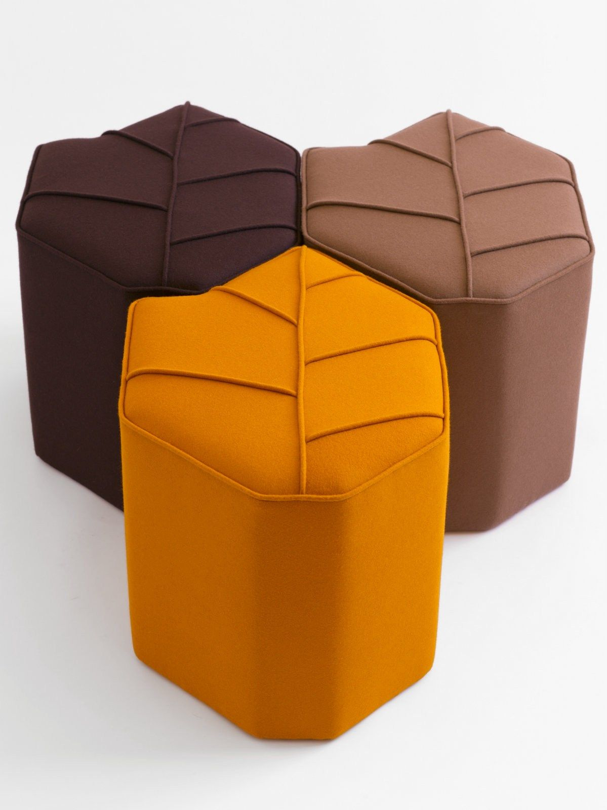 leaf seat  leaves stools and ottomans - leaf seat modern furniturefurniture designpoufstentcrafts