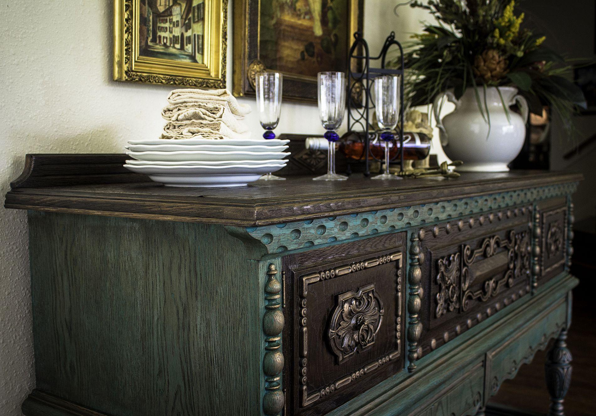Rockford Antique Sideboard | Portilla Design