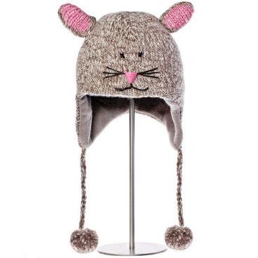 Bonnet enfant animaux Knitwits - Mimi la Souris Mention méga-délire pour ce bonnet enfant animaux ! Plusieurs choix rigolos pour habiller la tête de votre enfant d'un bonnet tellement mignon qu'on s'en achèterait un pour soi sans hésiter. Mais au delà de la rigolade, c'est surtout un vrai bonnet enfant animaux, en laine de Nouvelle-Zélande, doublé polaire, et avec une forte conscience de commerce équitable. Taille : 18M - 6 ans