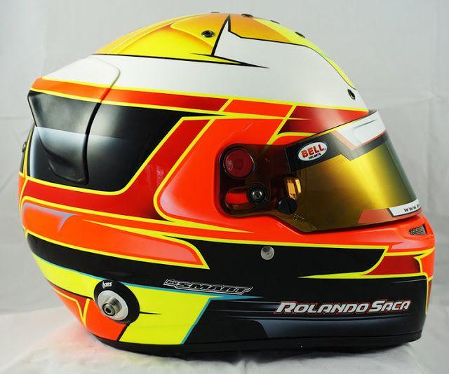 Racing Helmets Garage Bell Rs7 R Saca 2017 By Smart Race Paint