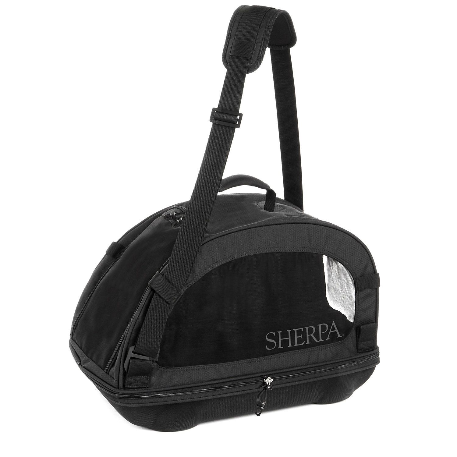 Sherpa Comfort Ride Black Airline approved pet carrier