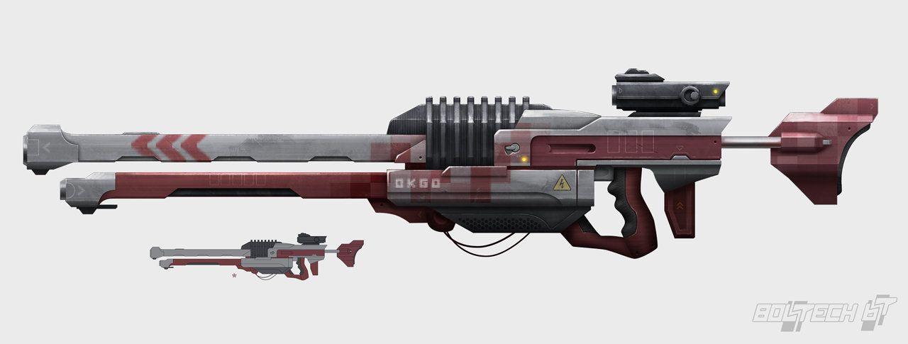 Gun Designs 01 by Ryan Wheeler on ArtStation.