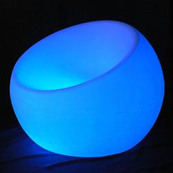 Bean Bag Chair Blue You Light Up My Life